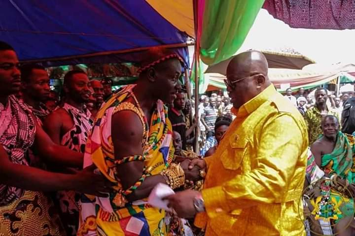Asunafo South serves as gateway of Presient's tour of Ahafo Region