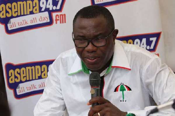 We will chop Ghana's money, you must contribute to chop – Ofosu Ampofo rallies NDC supporters.
